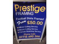 Prestige framing