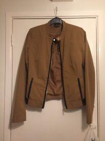 Brown modern jacket