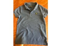 3x Boys Lyle & Scott Original shirts/Polo