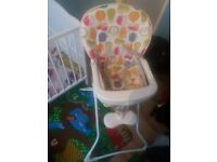 Baby hair chair for collection (£15)