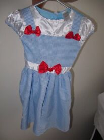 Dorothy from Wizzard of Oz for age 5 to 6 years two pounds and fifty pence only