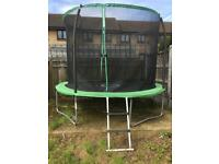 10ft trampoline with ladder