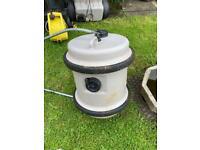 Caravan aqua water container with handle