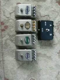 Marshall guitar effect pedal s. And carry case