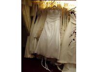 Job lot of bridal gowns. BARGAIN BARGAIN BARGAIN !!!!!!!!!!!!!!!!!!!!!!!!!!