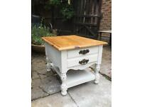 Bedside table/ coffee table shabby chic
