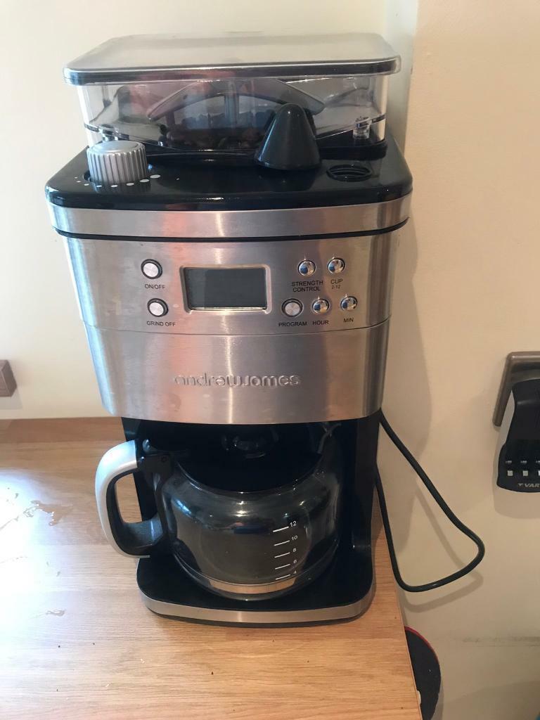 Reducedandrew James Coffee Machine In Pencoed Bridgend Gumtree