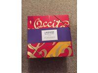 Bnib loccitane lavender gift set