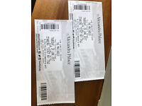 2 x Maccabees tickets. Ally Pally Thur 29th June