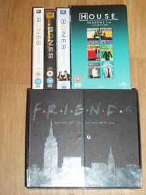 DVD Box sets Friends Bones and House