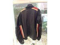 TRIUMPH leather jacket size 44 chest
