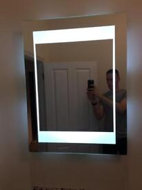 Tavistock Heated and backlit LED mirror