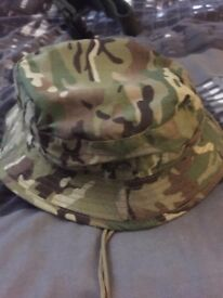 British Army Issue, Boonie Jungle Hat MTP, Never Used, amazing condition