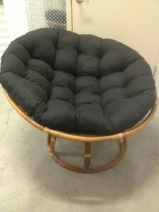 Pier 1 Thick Cushion Papasan Chair EBay
