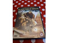 Black Hawk Down spectacular double disc dvd