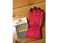 4-6Y Regatta winter waterproof & warm gloves