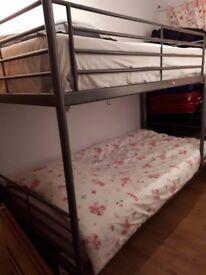 metal Bunk bed in Northolt verey good same as new