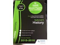 National 5 History model papers with answers