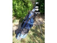 Set Of Right Handed Golf Clubs. . . Ideal for a beginner.