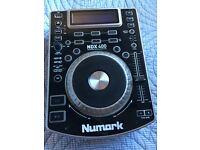 2 Numark NDX 400 & M101 Mixer - Mint Condition