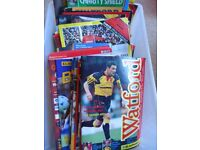 Various Watford FC matchday programmes - free to collect