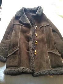 Vintage sheepskin coat