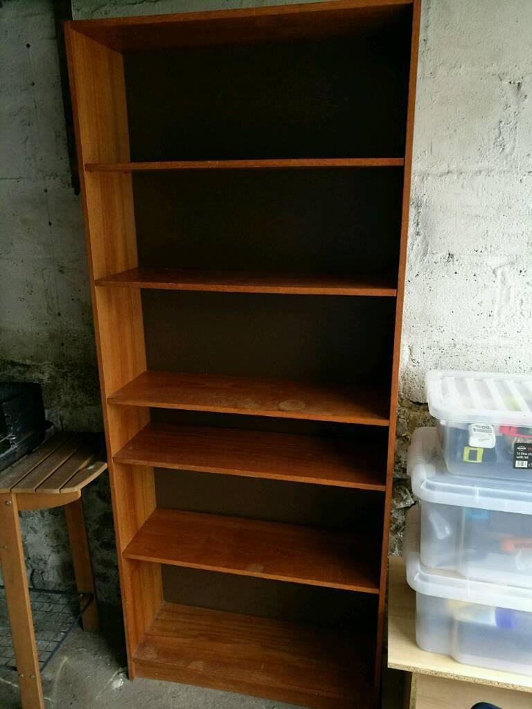 Wood bookcase bookshelf