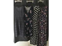 Size 8 New Look and ASOS Maternity dresses & skirt