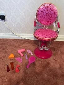 Our generation hairdresser chair