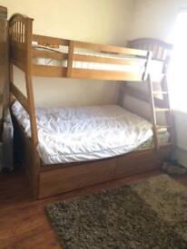 Joseph Triple Sleeper Bunk Bed