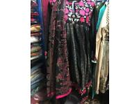 Pakistani Indian shalwar kameez linen large size