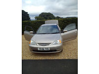 HONDA CIVIC COUPE 1.7- FOR SALE FOR SPARE OR REPAIR
