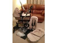 Bugaboo Cameleon Pram/Pushchair with lots of accessories