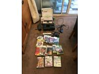 XBOX 360 60Gb WITH REMOTE CONTROL ALSO WITH KINNECT 15 GAMES