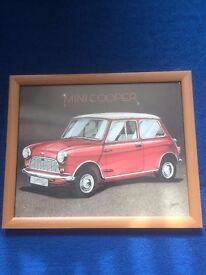 Classic Mini picture frame