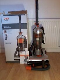 VAX BAGLESS UPRIGHT VACUUM CLEANER- LIKE NEW