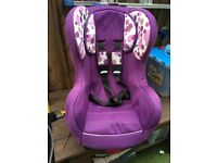 Childs Car seat age 9mnths to 4 years Isofix