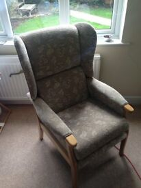 Fireside chair, very comfortable.