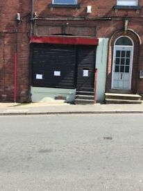 Lock Up Shop To Let Retail & office use