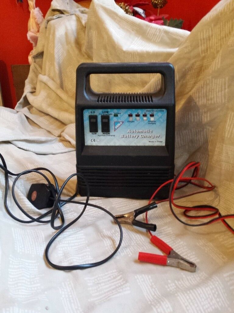 Car Battery Charger - £15