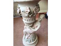 Ornate plant pot