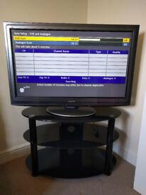 "37"" Panasonic Viera TV including Stand"
