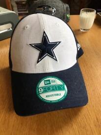 New Era Curved Visor Caps x3