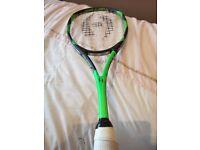 Harrow Custom Vibe racket/racquet As used by Karim Abdul Gawad