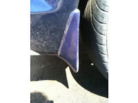 2003-2008, Mazda, RX8 - Genuine Mazda, Rear Mudflaps - Blue - RX-8
