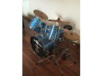 Gear4Music Drum Kit with Zildjian Cymbals