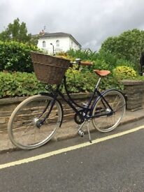 Pashley Brittania Bicycle. Ladies. Medium. Blue.