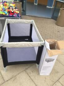 Baby start travel cot with box and instructions