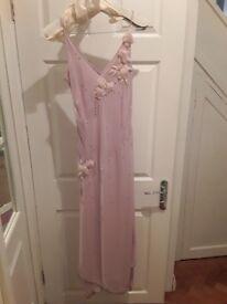 Next Pale Pink Occasion Dress size 14