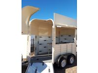 Horse trailer box conversion catering unit